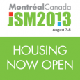 Housing is now open for the 2013 Joint Statistical Meetings in Montréal, Québec, Canada.