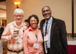 Alliance mentors Gerard Buskes, Carmen Wright, and Donald Cole at the 2012 Field of Dreams Conference in Phoenix, Arizona