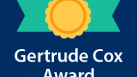 The Gertrude M. Cox Award Committee is seeking nominees for the 2017 Gertrude M. Cox Award. The deadline is February 28.