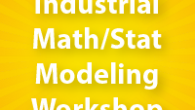 Graduate students in mathematics, statistics, and computational science: Apply now for SAMSI's Industrial Math/Stat Modeling workshop.