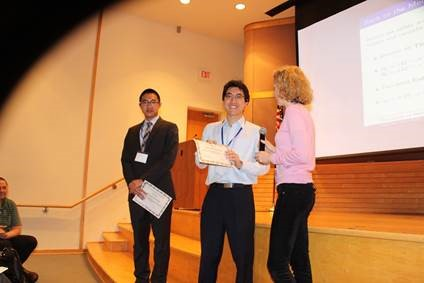 From left: Han Ding Xie, Yalin Zhu, and Katja Remlinger (NCB Committee)