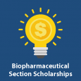 The Biopharmaceutical Section will offer a scholarship of $1,000 to each of three students in 2019 to recognize three main areas of student achievement related to biopharmaceutical statistics: notable research; specific technical achievement; and applied project work.